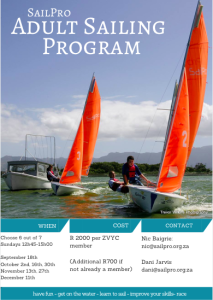 SailPro Adult Sailing Program 2016