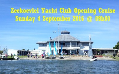 ZVYC Opening Cruise, Sunday 4 September 2016