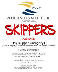 ZVYC Skippers Course 2017