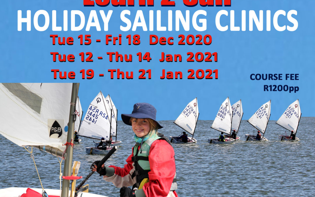 Holiday Sailing Clinic 19-21 Jan 2021