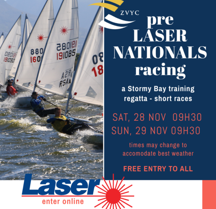 Pre Laser Nationals Training Regatta 28-29 Nov 2020